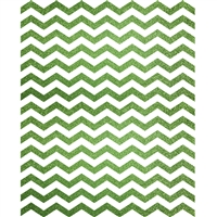 Lime Green Glitter Chevron Printed Backdrop