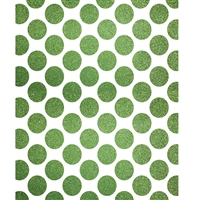 Lime Green Polka Dots Printed Backdrop