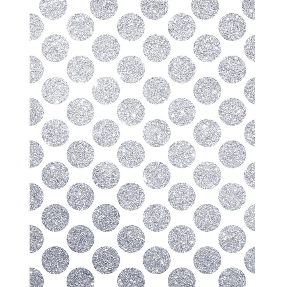 Grey Polka Dot Wall Stickers