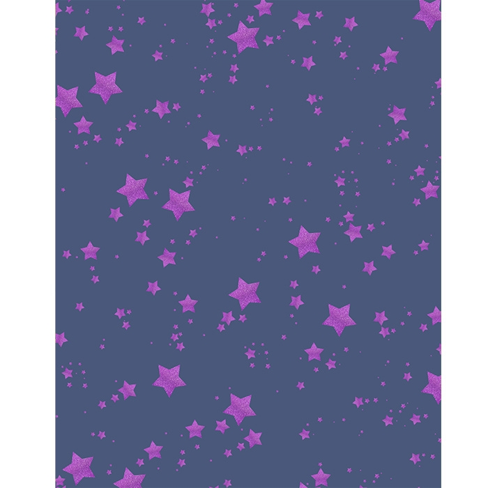 Blue and Purple Glitter Stars Printed Backdrop | Backdrop ...
