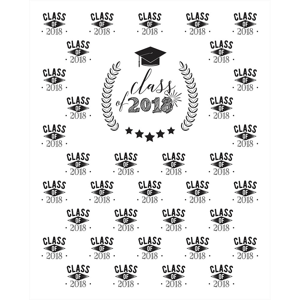 Graduation Step And Repeat Printed Backdrop Backdrop Express