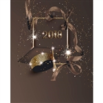 Glitter Graduate Printed Backdrop