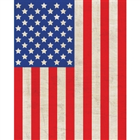 United States Flag Printed Backdrop
