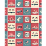 Happy Independence Day Printed Backdrop