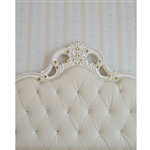 Ivory Headboard Printed Backdrop