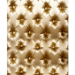 Gold Tufted Printed Backdrop