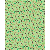 Earthtone Dots Printed Backdrop