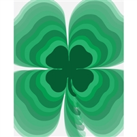 Four Leaf Clover Printed Backdrop
