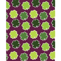 Patterned Clovers Printed Backdrop