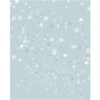 Dreamy Snowflakes Printed Backdrop
