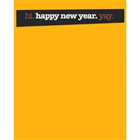 Slanted New Year's Eve Banner Printed Backdrop