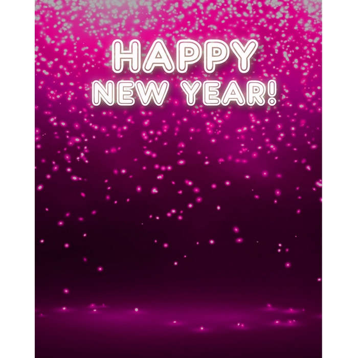 Electric New Year S Eve Printed Backdrop Backdrop Express