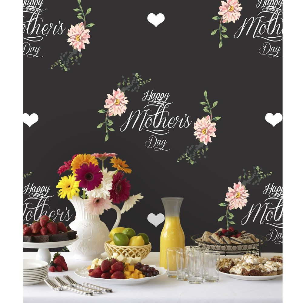 Mother S Day Hearts Printed Backdrop Backdrop Express