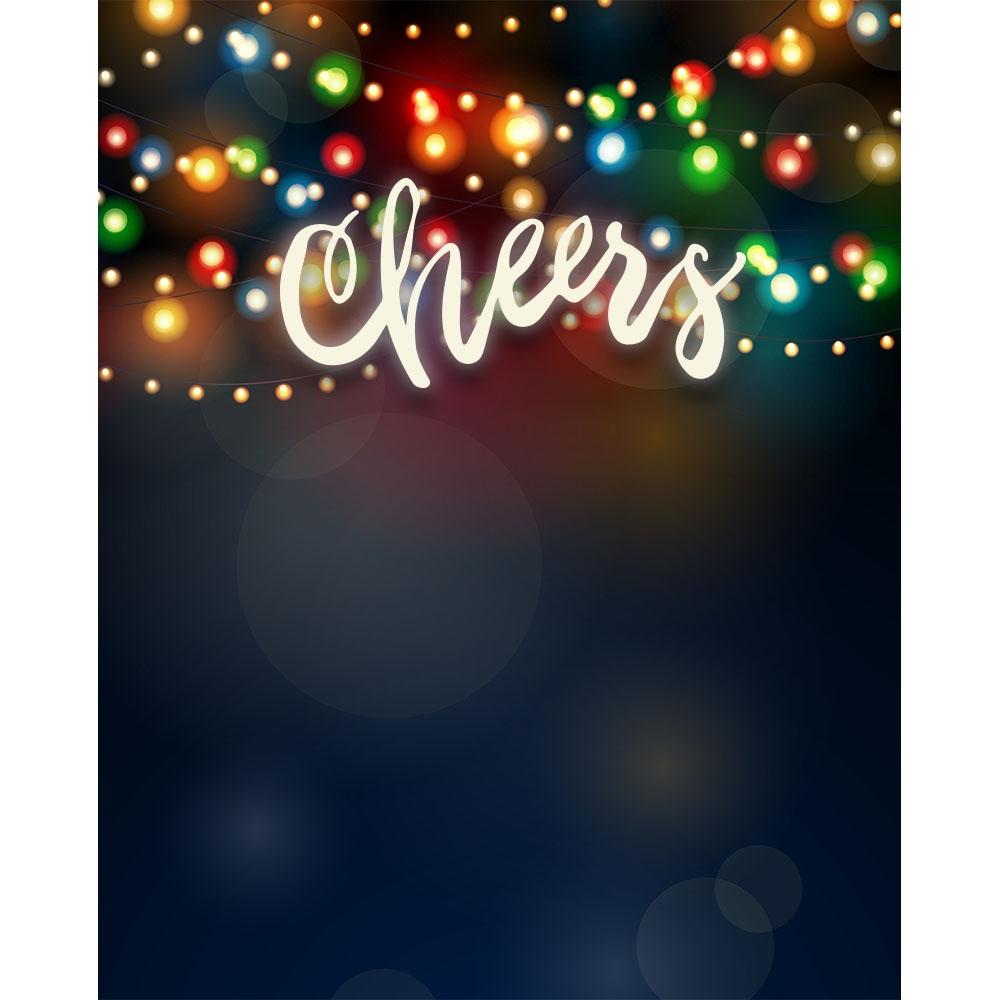 Holiday Cheer Printed Backdrop Backdrop Express