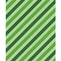 Green Diagonal Printed Backdrop