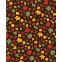 Harvest Leaves Printed Backdrop