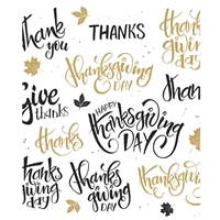 Thanksgiving Day Printed Backdrop