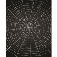 Spider Web Printed Backdrop