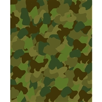 Army Camo Printed Backdrop