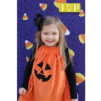 Candy Corn Printed Backdrop