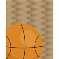Basketball Printed Backdrop