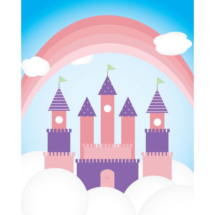 Images For > Pink Princess Castle Background