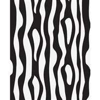 Zebra Stripes Printed Backdrop