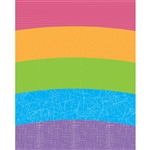 Textured Rainbow Printed Backdrop