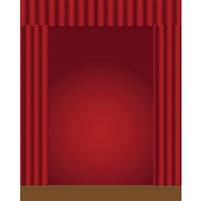 Stage Curtains Printed Backdrop