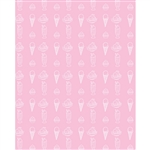 Ice Cream Printed Backdrop - Vinyl - 4ft x 5ft