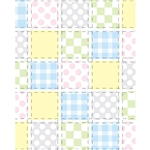 Pastel Quilt Printed Backdrop