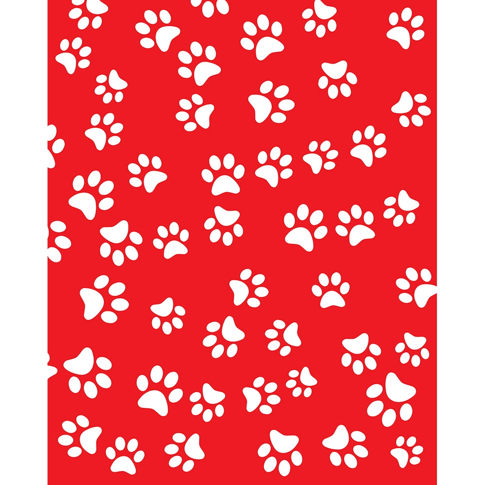 Dog Paws Printed Backdrop Backdrop Express