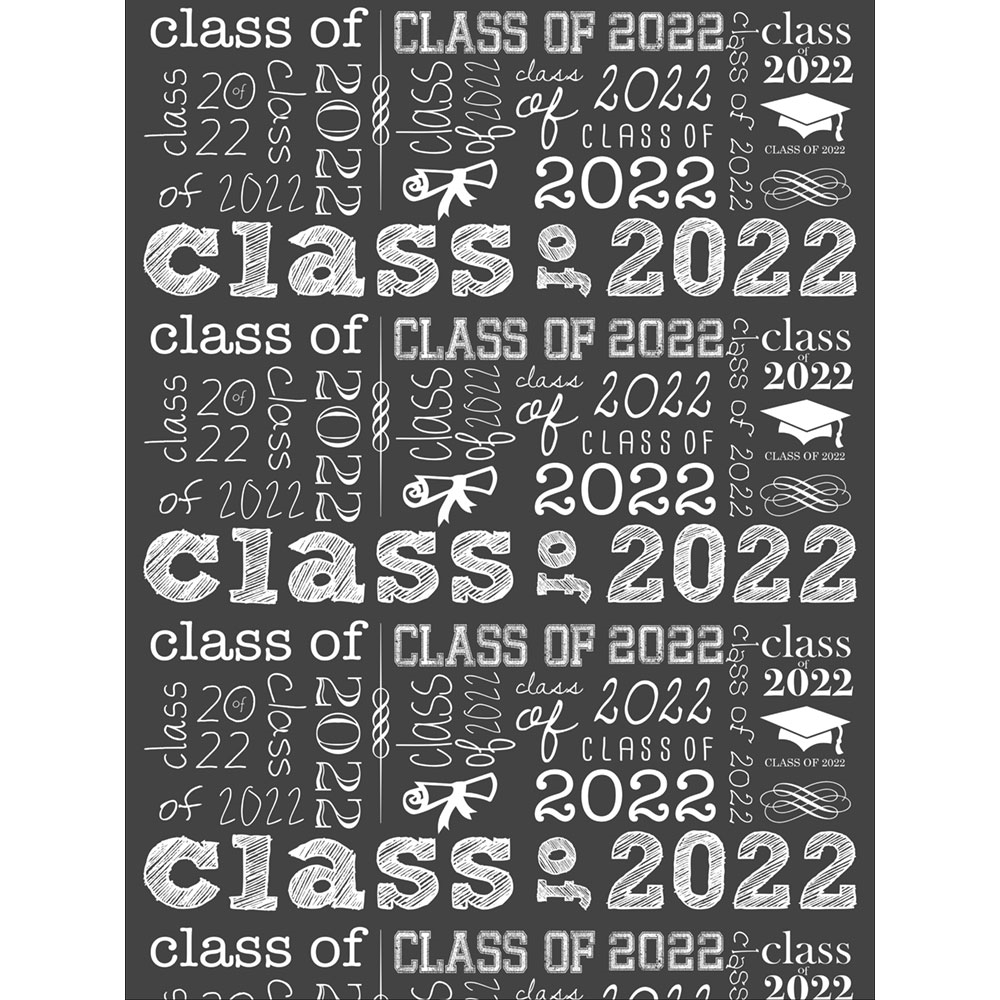 Quot Class Of Quot Chalkboard Printed Backdrop Backdrop Express