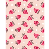 Raspberry Wallpaper Printed Backdrop