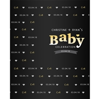 Baby Celebration Printed Backdrop
