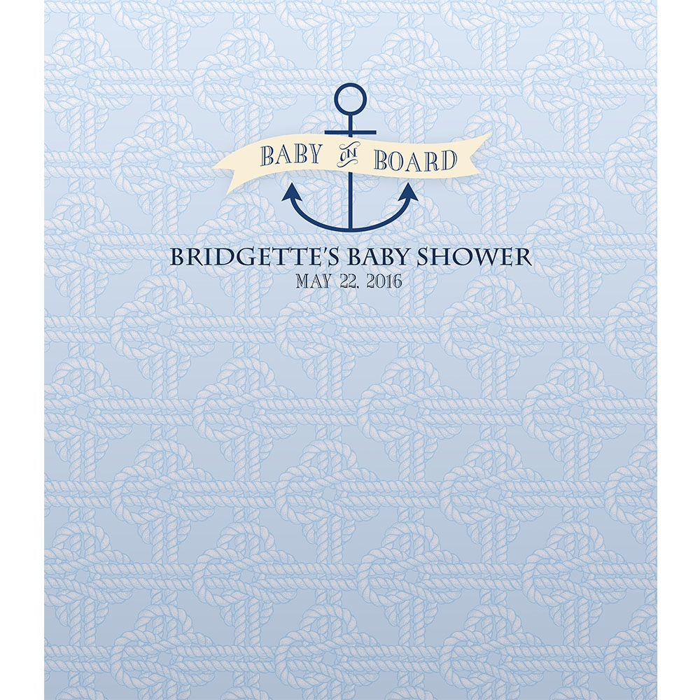 nautical baby shower custom printed backdrop backdrop express