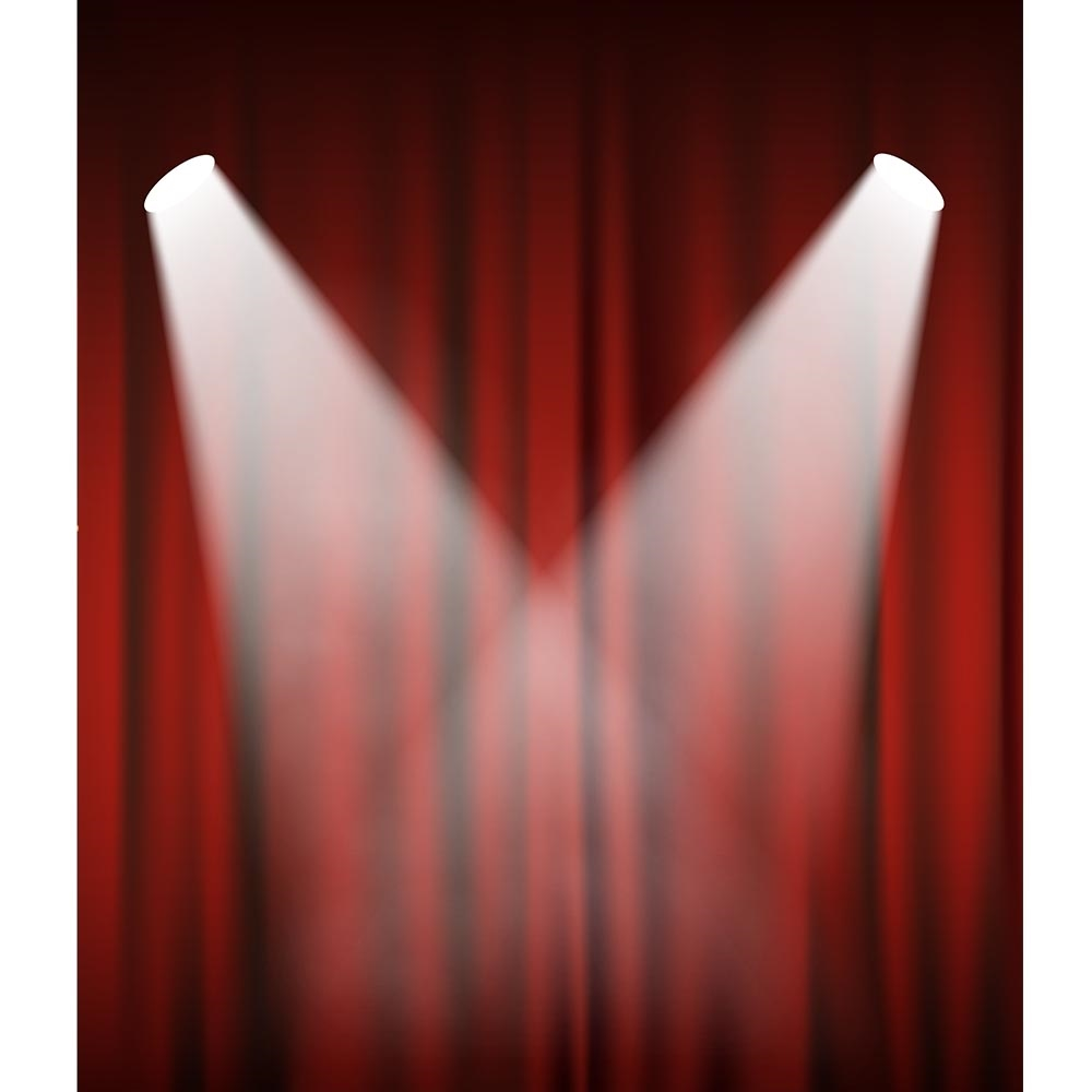 Center Stage Printed Backdrop Backdrop Express