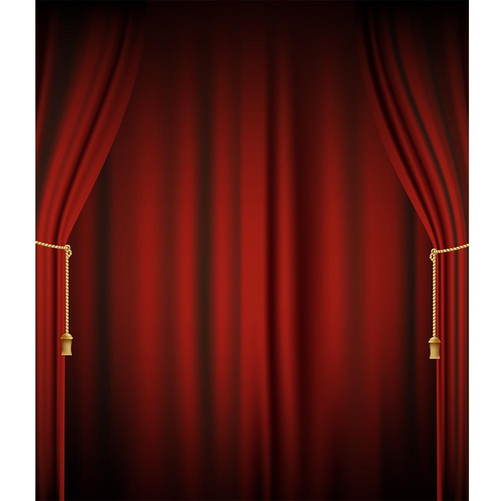 Theater Curtain Printed Backdrop Backdrop Express