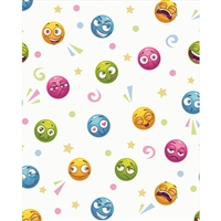 Emoticons Printed Backdrop