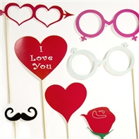 Vintage Love Photo Booth Props