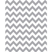 Gray & White Chevron Printed Seamless Paper