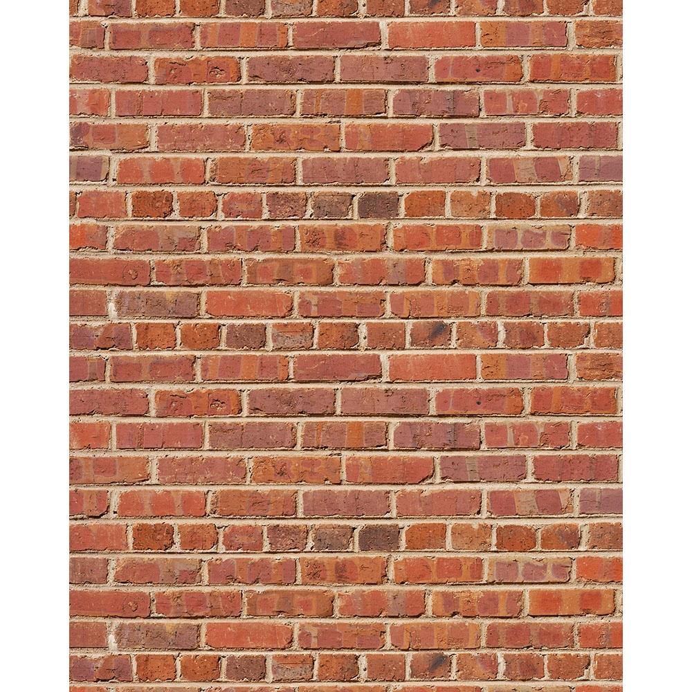 Red Brick Printed Seamless Paper | Backdrop Express