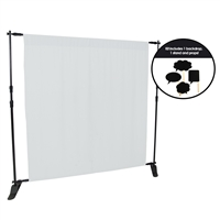 White Fabric Photo Booth Kit