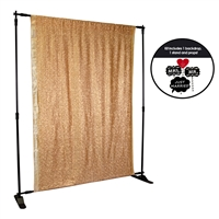 Copper Sequin Photo Booth Kit