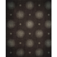 Soft Gray Polka Dot Printed Backdrop