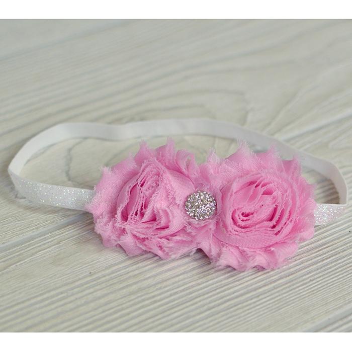 Vintage Flower Headband 28