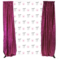 Princess Sweet 16 Custom Birthday Backdrop Kit