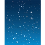 Starry Night Printed Backdrop