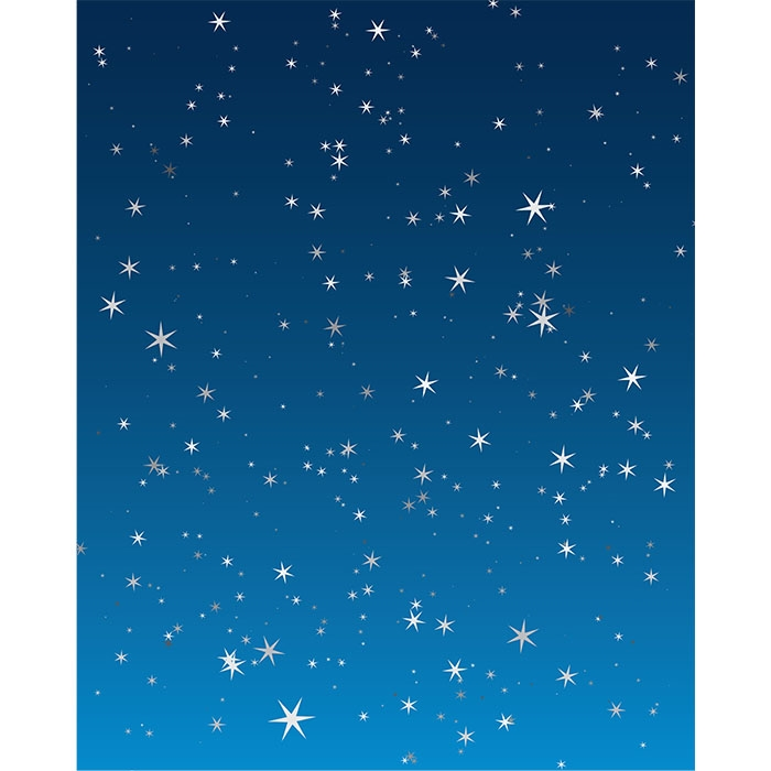 Starry Night Printed Backdrop Backdrop Express