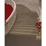 Vintage Grand Stairway Printed Backdrop